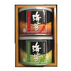 お年賀お勧め商品「味付け海苔2缶入り」
